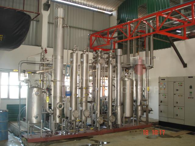 CO2 Gas Recovery Plant