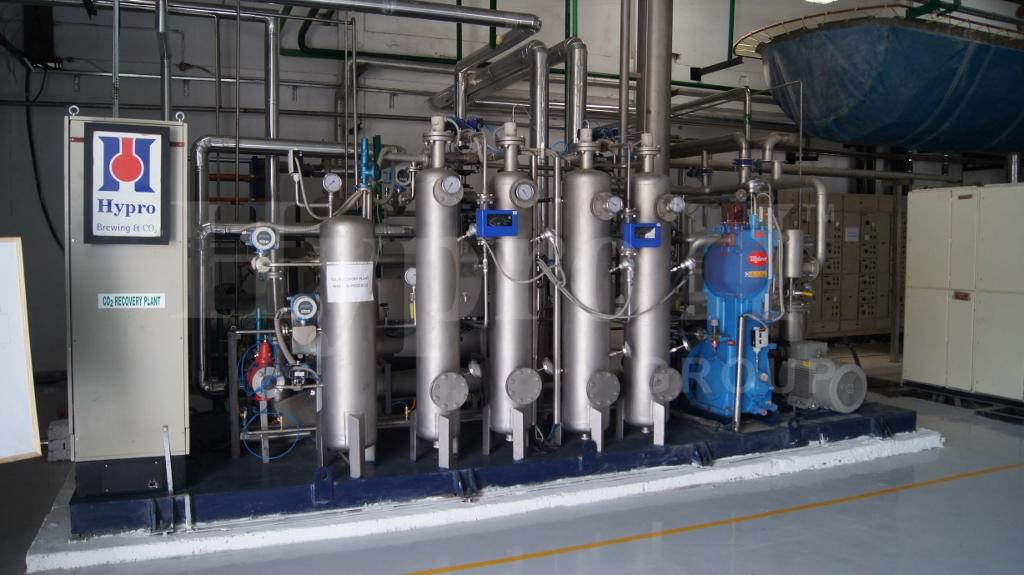 CO2 Recovery in Brewery