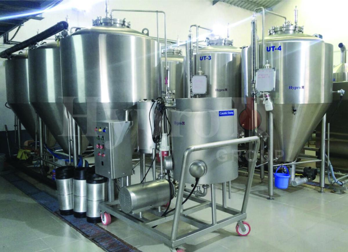 Fermentation Tanks for Microbrewery