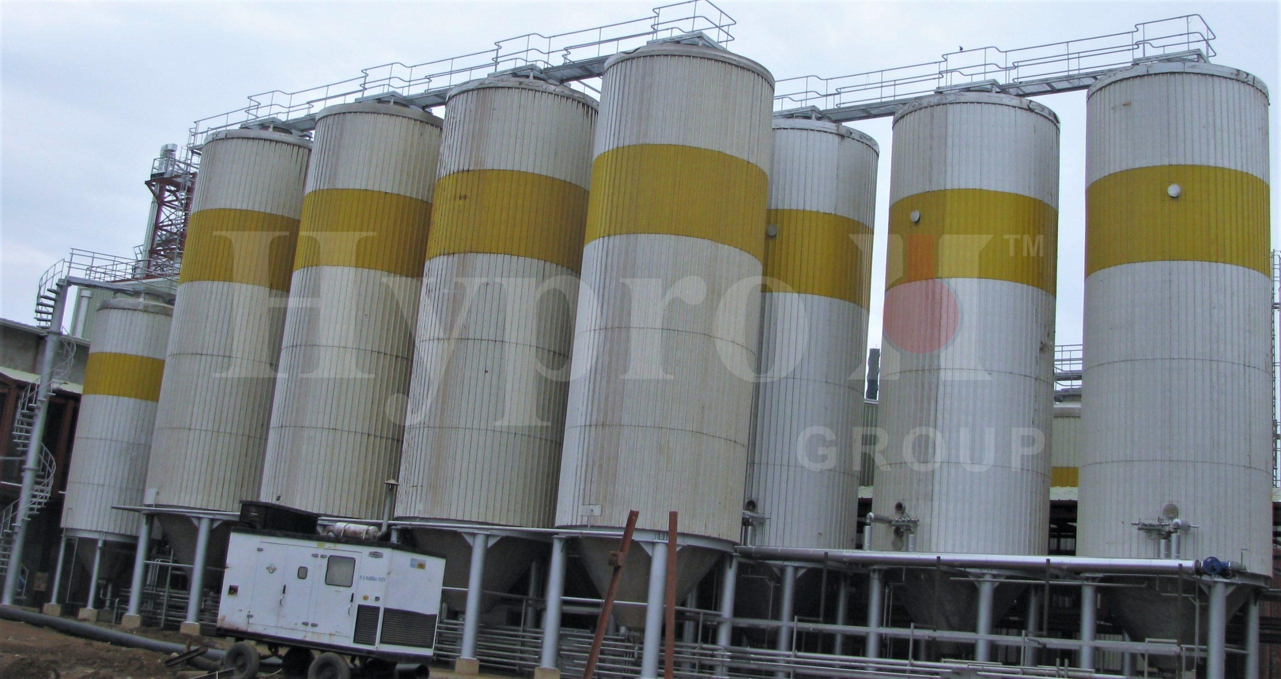 Large Industrial Fermenters