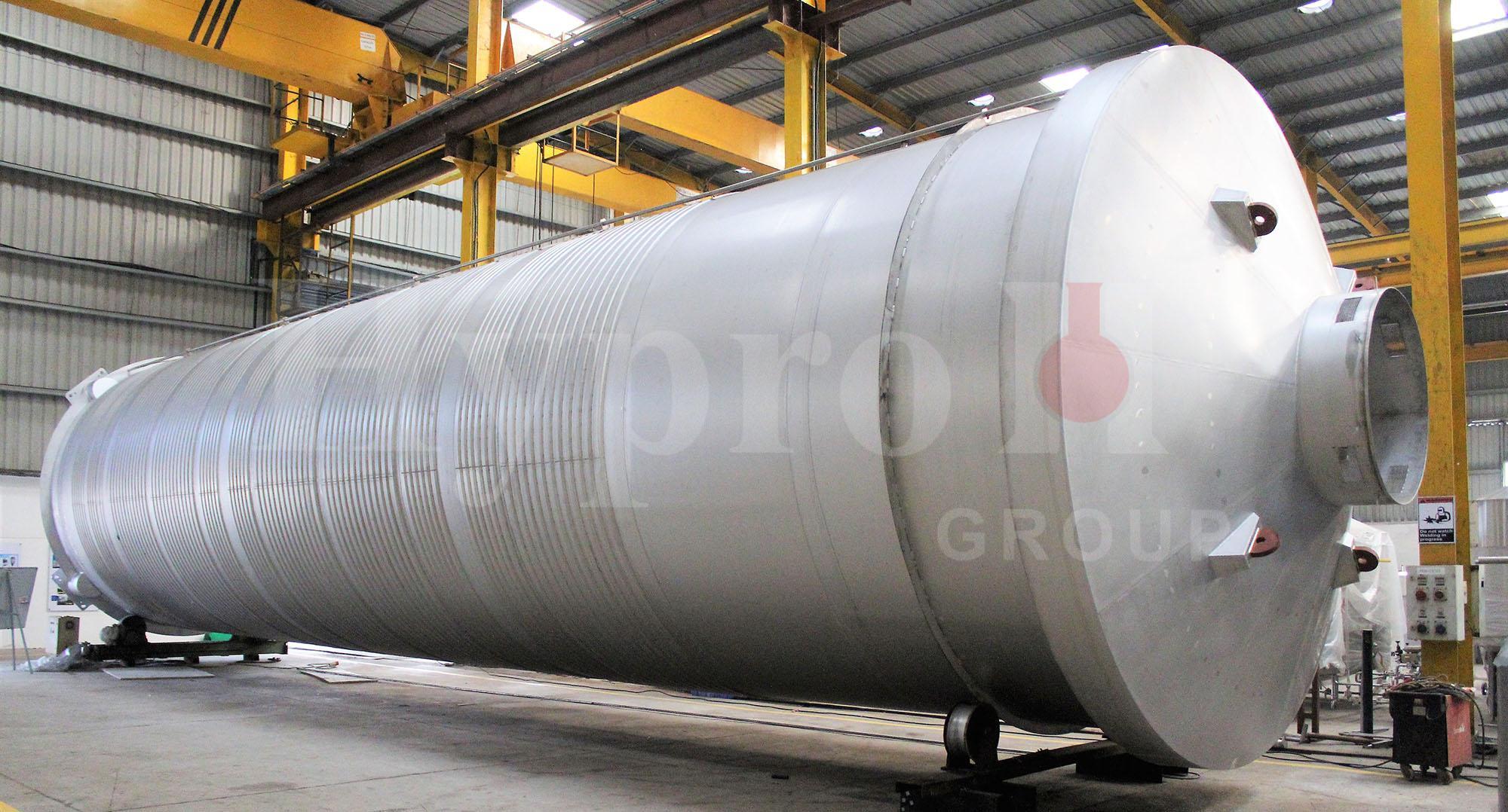 Large Unitank Manufacturing