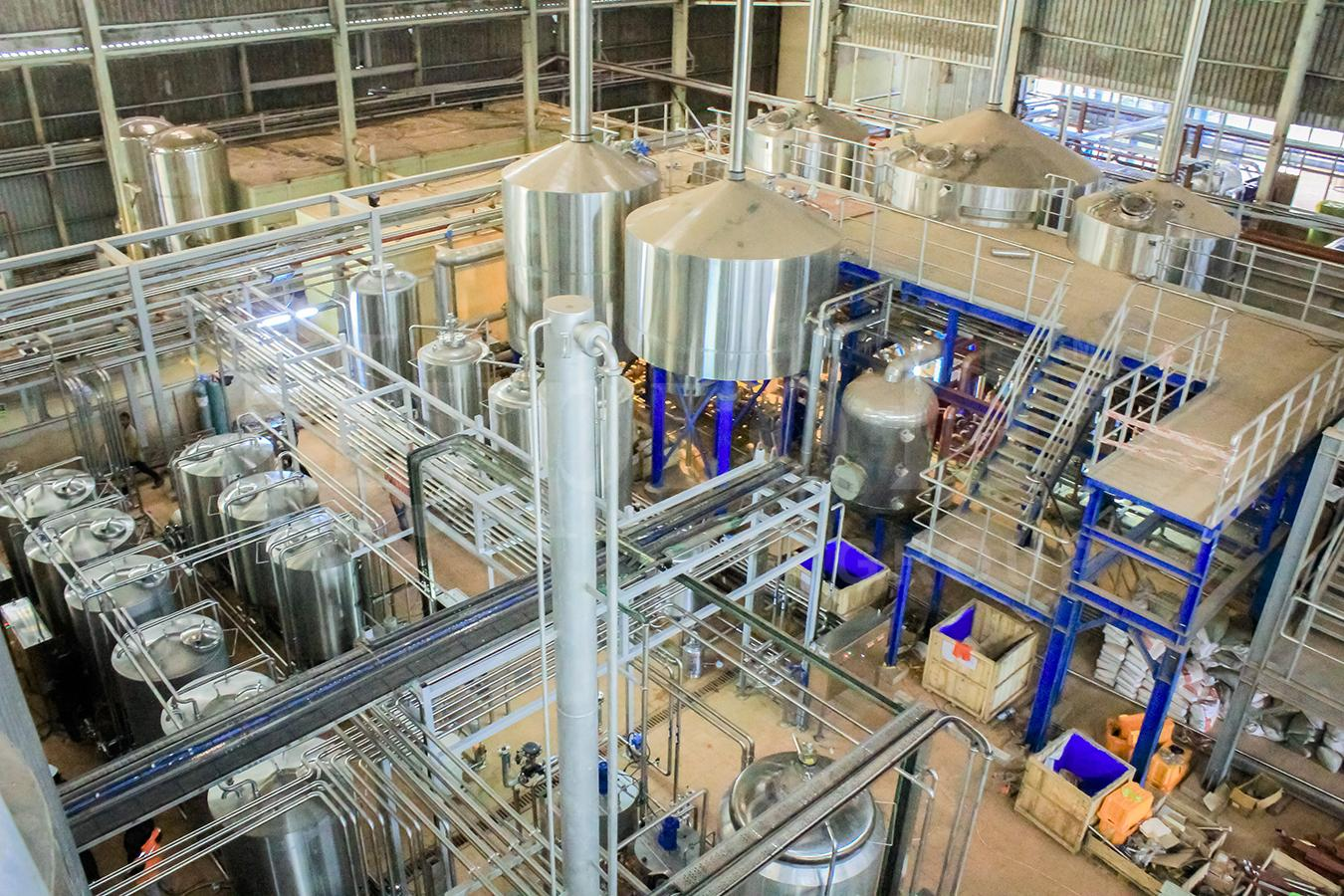 Greenfield Brewery Process Cold Block